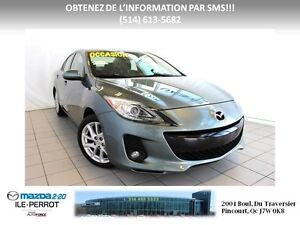 2012 Mazda Mazda3 GT CUIR 2.5 TOIT BOSE West Island Greater Montréal image 1