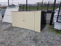 STEEL STORAGE BOXES, SUIT CARAVANS. ALUMINIUM GREENHOUSES & SHEDS SUIT GARDENS GARDENER PLANTS TOOLS
