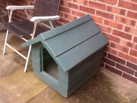Small plastic dog kennel £25