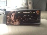 Pro l.c.d hair curler