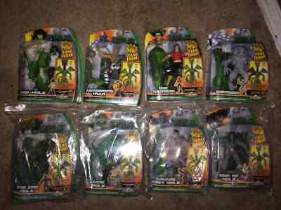 MARVEL LEGENDS HULK FIN FANG FOOM BUILD A FIGURE COMPLETE SET of 9 (#1-8)