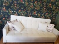 3 SEATER SOFA- SOFA BED WITH STORAGE