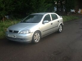 Vauxhall Astra 1.8i Sri 5 door long mot faultless drive excellent condition