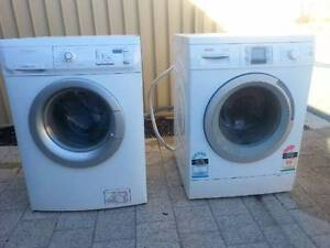 Free bosch and electrolux washing machines Southern River Gosnells Area Preview