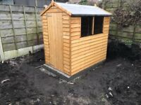 Shed 6ft x 4ft - NEW