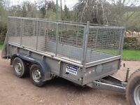 Ifor William trailer with side and ramp