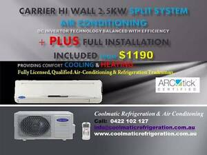 Supply & Install New Split Unit Air Conditioner (Reverse Cycle) Templestowe Manningham Area Preview