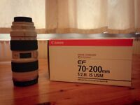 Canon 70-200mm f2.8 L IS USM