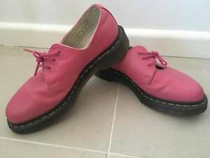 Dr Martens 1461 3 eye shoes in raspberry - EU37/ UK4 Maroubra Eastern Suburbs Preview