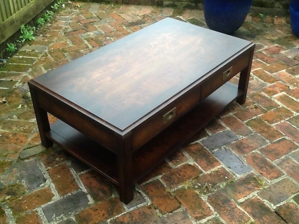 John Lewis Coffee table with draws | in Romsey, Hampshire ...