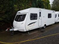 2010 Lunar Lexon SE 4 Berth caravan FIXED BED, MOTOR MOVER, Bargain !!! January Sale
