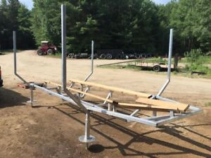 Attention Cottagers: Custom Docks - Boat Rests - Trailers!