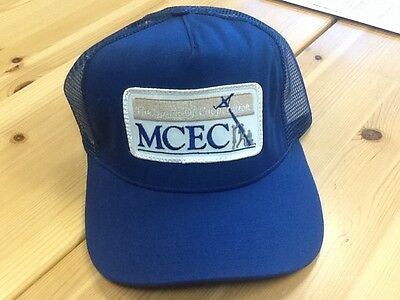 MCEC Mid Carolina Electric Cooperative South Carolina Meshback Hat Blue! RARE