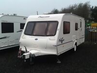 2004 Bailey pageant champagne 4 berth end changing room