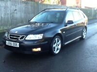 2006 Saab vector tid estate long mot parking sensors service history 2 x keys BARGAIN!!!!