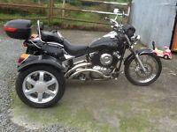 Trike Yamaha 650 Dragstar