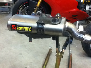 2003 - 2004 Ducati 999 749 Akropovic exhaust system