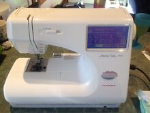 Janome Memory Craft 9000 Richmond Hawkesbury Area Preview