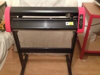 Vinyl Plotter Cutter with Red Eye 600mm CTO630