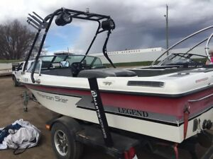 1991 American Skier Competition Ski Boat