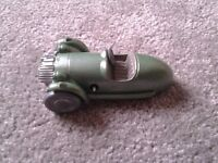 Mechanical morgan wind up key operated toy die cast car