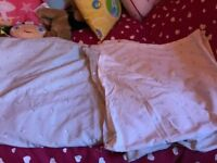 DOUBLE QUILT COVER AND PILLOWCASES USED