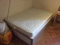 Free Double Divan Bed - MUST COLLECT TUESDAY 28th (Pic to follow)