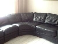 Black corner suite £200 ono