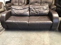 DFS Real Leather Sofa very nice comfy can deliver