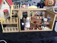Sylvanian Families village bakery toy set