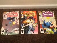Marvel Cloak & Dagger Comics