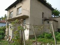 2 storey Bulgarian house in a city on the Danube river