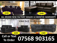 SOFA BEST OFFER BRAND NEW LEATHER SOFAS FAST DELIVERY 8
