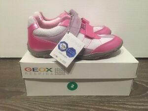 NEW size 2 GEOX sneakers