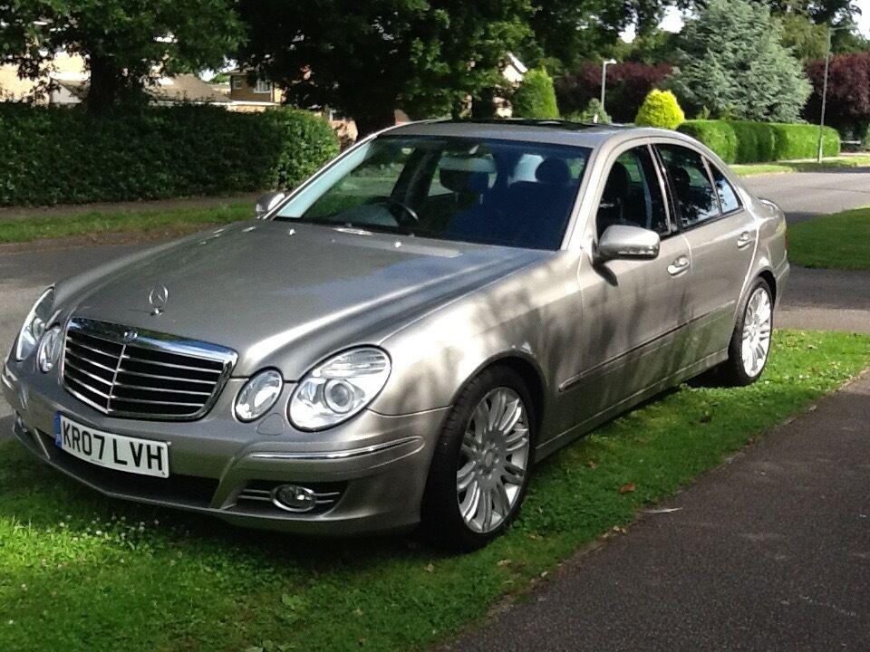 Mercedes benz e class saloon 2006 2012 w211 facelift 2 for 2006 mercedes benz e350 reviews