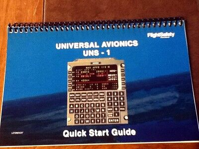 Universal UNS-1 Quick Start Pilot's Guide