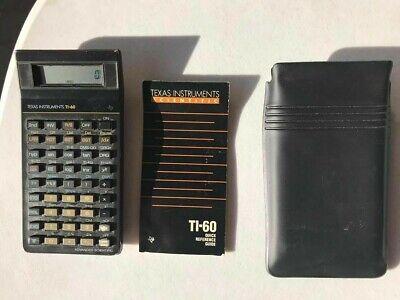 Vintage Texas Instruments TI-60 Calculator