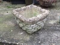 Garden pot, square(ish)!