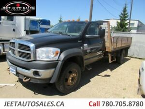 2008 Dodge 4500 SLT Flat Deck