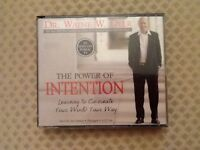 THE POWER OF INTENTION By DR. WAYNE W. DYER. Learning to Co-create Your World Your Way. 4 CD Set.