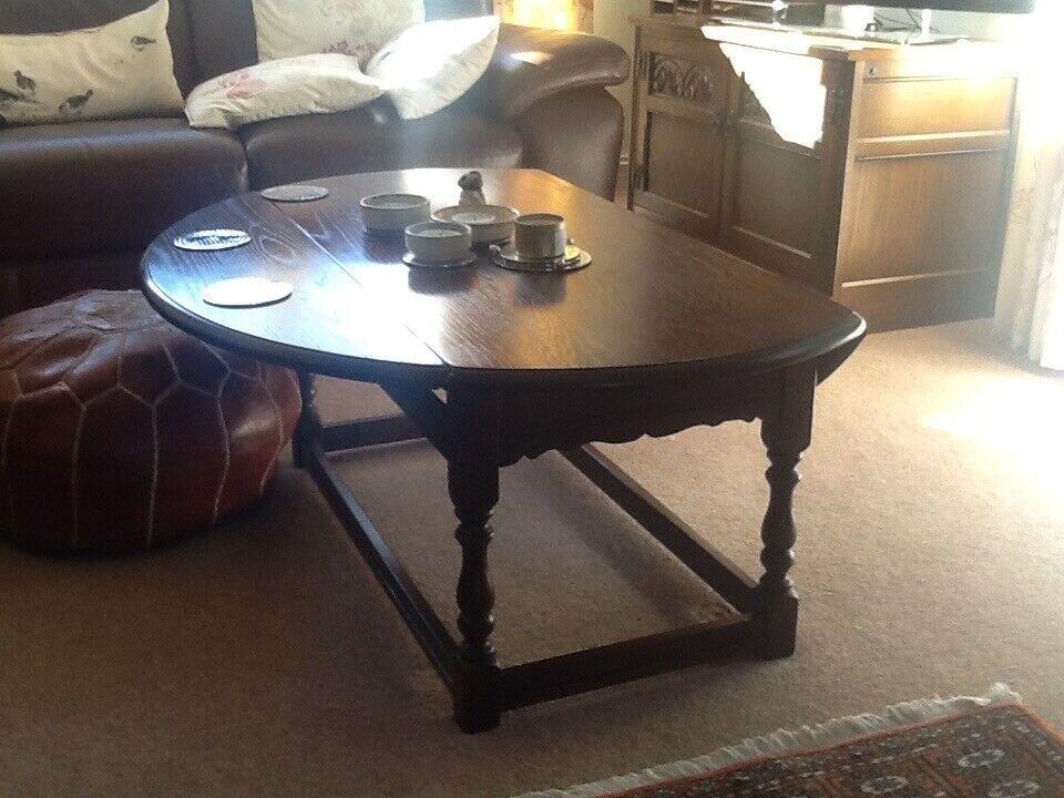 Brilliant Solid Oak Coffee Table In Elgin Moray Gumtree Machost Co Dining Chair Design Ideas Machostcouk