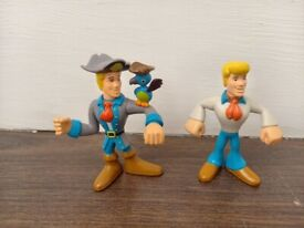 Scooby Doo Fred figures - 7 cms