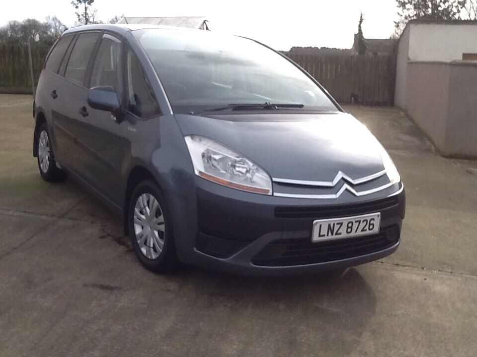 2007 citroen c4 picasso 7 seater 1 6 hdi in dungannon county tyrone gumtree. Black Bedroom Furniture Sets. Home Design Ideas