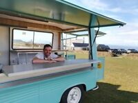Vintage Food Van/Food Truck for Private Hire. Dinner party, Private chef