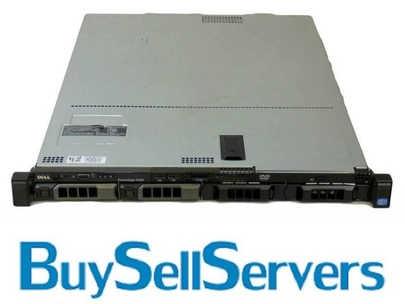 Dell PowerEdge R420 LFF,2x E5-2407,8GB,2Trays H710,RPS,IDRAC ENT W/License ,A+