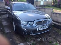 MG ZT-T + AUTO ,,, 120K RUNS SUPERB , SPARES OR REPAIRS READ ADD £275 RARE NOW