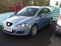 Seat Leon 1.6 petrol hatchback 108k