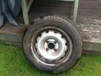 Citroen Berlingo spare wheel