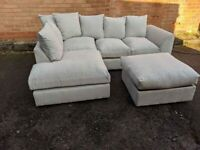 BRAND NEW BARCELONA LILENE CORNER OR 3+2 SEATER SOFA SET AVAILABLE IN STOCK ORDER NOW