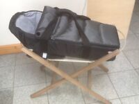 Carrycot and stand -£10 the set-carrycot lightly used in excellent condition